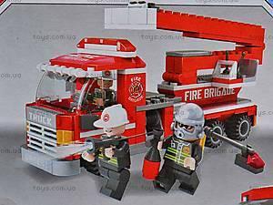 Конструктор «Пожарная бригада», 21901, детские игрушки