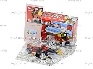 Конструктор для детей «Пожарная бригада», 31 деталь, 21101, купить