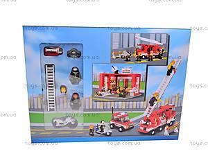 Конструктор «Пожарная команда», 631 деталей, M38-B3100, отзывы