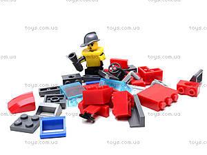 Конструктор «Пожарная машина», 607 элементов, 908, доставка