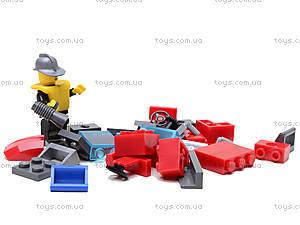 Конструктор «Пожарная машина», 607 элементов, 908, набор