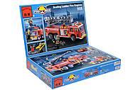 Конструктор «Пожарная машина», 607 элементов, 908, купить