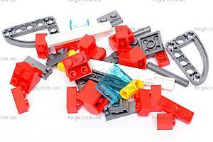 Конструктор «Пожарная машина», 607 элементов, 908, игрушки