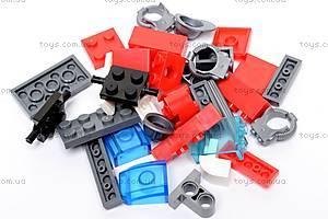 Конструктор «Пожарная машина», 607 элементов, 908, детские игрушки