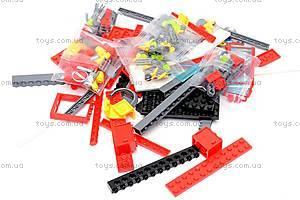 Конструктор «Пожарная машина», 607 элементов, 908, магазин игрушек