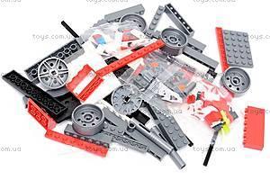 Конструктор «Пожарная машина», 607 элементов, 908, toys