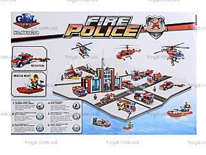 Конструктор «Пожарная машина», 153 элемента, KY98208, купить