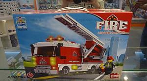 Конструктор пожарная машина, TS30111A, купить