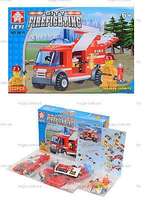 Детский конструктор «Пожарная машина с лестницей», 8815