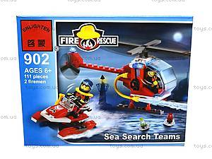Конструктор «Пожарная охрана», 111 элементов, 902, отзывы