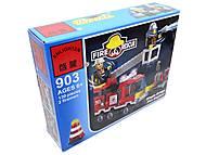 Конструктор «Пожарная охрана», 130 элементов, 903, фото