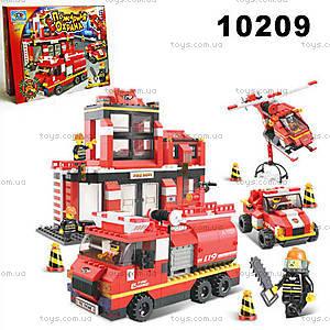 Конструктор «Пожарная охрана», 10209