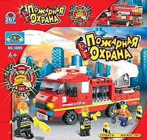 Конструктор «Пожарная охрана», 270 элементов, 10205
