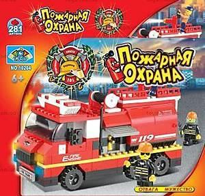 Конструктор «Пожарная охрана», 281 элемент, 10204