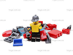 Конструктор «Пожарная охрана», 340 элементов, 906, іграшки