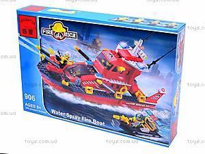 Конструктор «Пожарная охрана», 340 элементов, 906