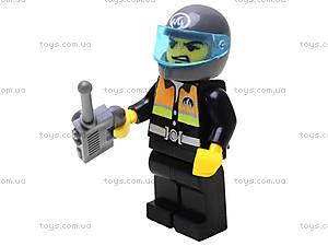 Конструктор «Пожарная охрана», 361 элемент, 909, игрушка