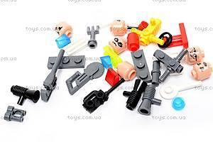 Конструктор «Пожарная охрана», 361 элемент, 909, детские игрушки