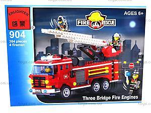 Конструктор «Пожарная охрана», 364 элемента, 904, фото