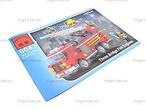 Конструктор «Пожарная охрана», 364 элемента, 904, отзывы