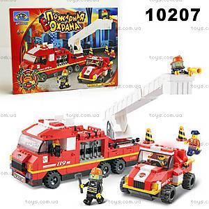 Конструктор «Пожарная охрана», 368 элементов, 10207