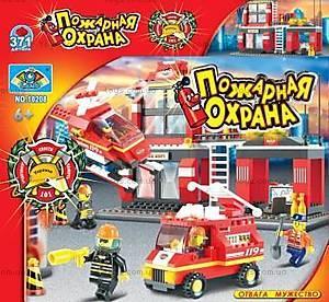 Конструктор «Пожарная охрана», 371 элемент, 10208