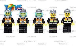 Детский конструктор «Пожарная охрана», 910, детские игрушки