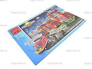 Детский конструктор «Пожарная охрана», 910, игрушки