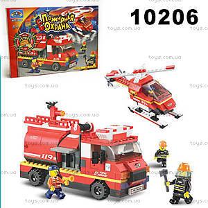 Конструктор «Пожарная охрана», 409 элементов, 10206