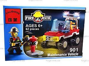 Конструктор «Пожарная охрана», 62 элемента, 901, фото