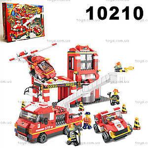 Конструктор «Пожарная охрана», 727 элементов, 10210