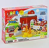 Конструктор «Пожарная станция», 32 детали, 5151, купить