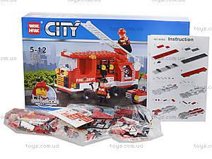 Конструктор «Пожарная техника», 227 деталей, 89006, фото