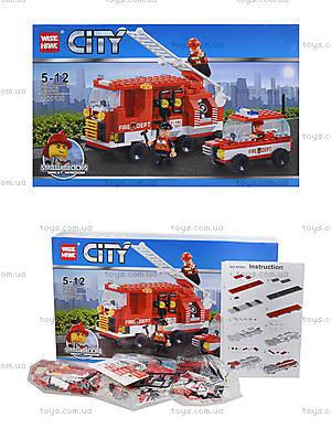 Конструктор «Пожарная техника», 227 деталей, 89006