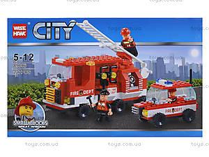 Конструктор «Пожарная техника», 227 деталей, 89006, отзывы