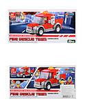 Детский конструктор с пожарной техникой, 22008, отзывы
