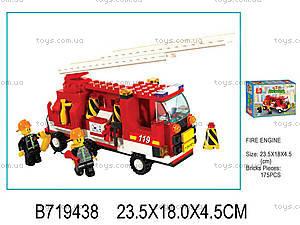 Конструктор «Пожарные», 175 элементов, M38-B3000