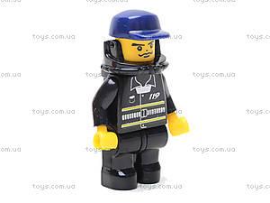 Конструктор «Пожарные спасатели», 118 деталей, M38-B0217R, Украина