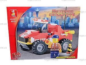 Конструктор «Пожарные спасатели», 118 деталей, M38-B0217R, отзывы