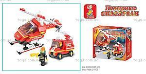 Конструктор «Пожарные спасатели», 211 деталей, M38-B0219R, купить