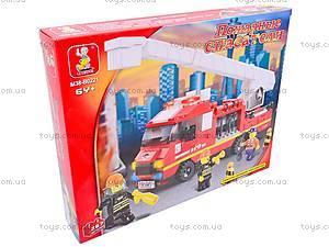 Конструктор «Пожарные спасатели», 270 деталей, M38-B0221R