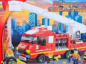 Конструктор «Пожарные спасатели», 270 деталей, M38-B0221R, отзывы