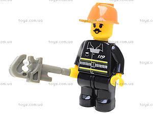 Конструктор «Пожарные спасатели», 281 деталей, M38-B0220R, детские игрушки