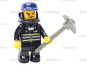 Конструктор «Пожарные спасатели», 281 деталей, M38-B0220R, магазин игрушек