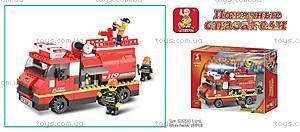 Конструктор «Пожарные спасатели», 281 деталей, M38-B0220R, купить