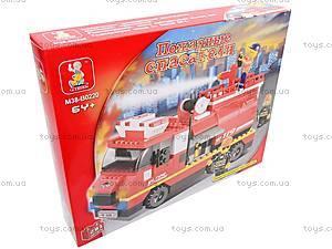 Конструктор «Пожарные спасатели», 281 деталей, M38-B0220R