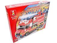 Конструктор «Пожарные спасатели», 281 деталей, M38-B0220R, фото
