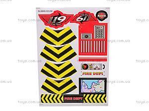 Конструктор «Пожарные спасатели», 371 деталей, M38-B0225R, игрушки