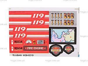 Конструктор «Пожарные спасатели», 371 деталей, M38-B0225R, детские игрушки