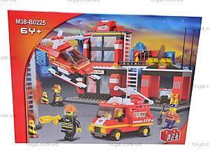 Конструктор «Пожарные спасатели», 371 деталей, M38-B0225R